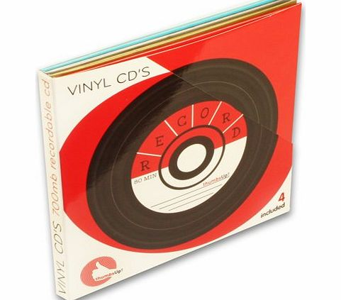 Thumbs Up Vinyl CDR Storage Media product image