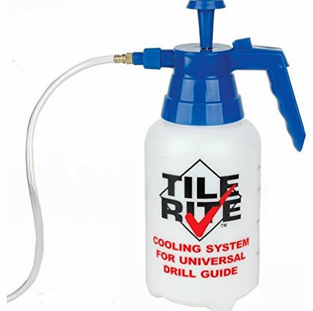 Tile Rite  DCS237 1.1L Cooling System Bottle for Use with Diamond Hole Cutter Drill Bits