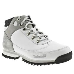 Male 2.0 Eurohiker Leather Upper Casual Boots in White
