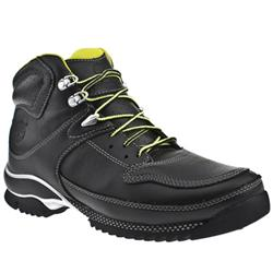 Male C300m Leather Upper Casual Boots in Black