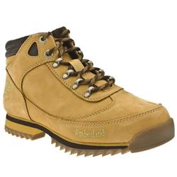Male Eurohiker Nubuck Upper Casual Boots in Natural