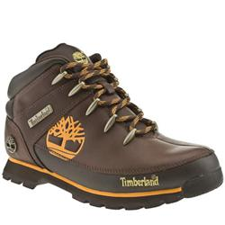 Male Eurosprint Tree Leather Upper ?40 plus in Brown