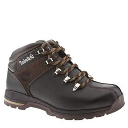 Male Skhigh Rock Ii Leather Upper Casual Boots in Brown