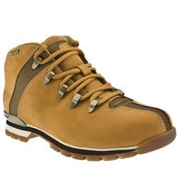 Male Splitrock Nubuck Upper Casual Boots in Natural