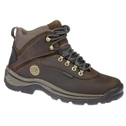 Male TIMMT12135 Leather/Textile Upper Textile Lining Boots in Brown