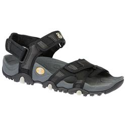 Male TIMMT28103 Textile Upper Textile Lining Sandals in Black