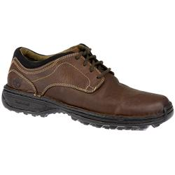 Male TIMMT54537 Leather/Textile Upper Leather/Textile Lining Lace Up Shoes in Brown