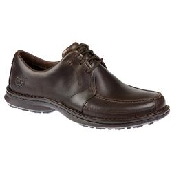 Male TIMMT68594 Leather Upper Leather/Textile Lining Lace Up Shoes in Brown