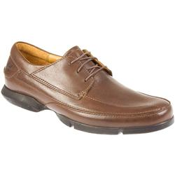 Male Timsp63548 Leather Upper Leather Lining Casual Shoes in Tan