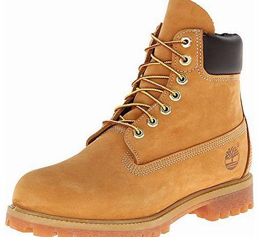 Mens 6`` Premium Nubuck Wheat Waterproof Boot 10061 9 UK