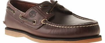 mens timberland brown classic boat shoes