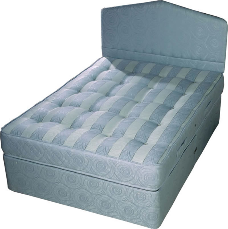 Times beds divan beds for Single two drawer divan bed