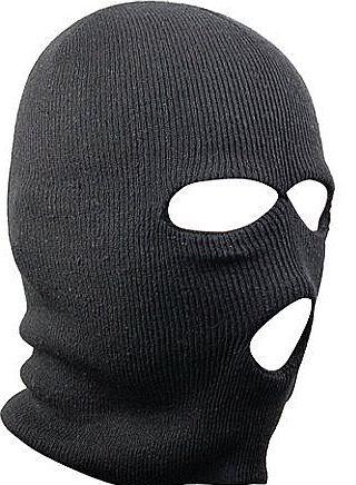 ... Hole Black Balaclava SAS Style Mask Neck Warmer Ski Hat Secret Santa