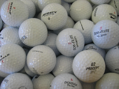 100 Assorted Pearl Grade Golf Balls