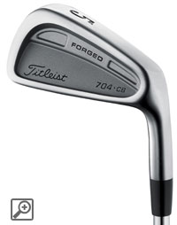 Titleist 704CB Irons (steel shafts)