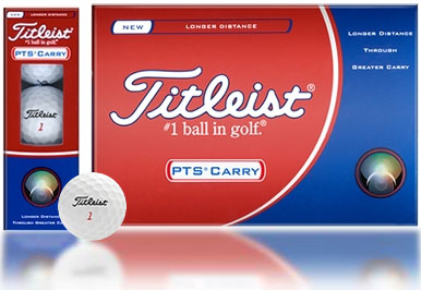 PTS Carry Golf Balls 12 Balls