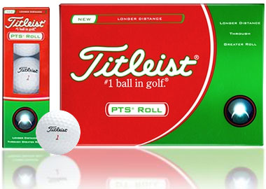 PTS Roll White Golf Balls 12 Balls