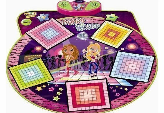 Childrens Kids Dance Music Mixer Electronic Play Mat Toy & CD/MP3 Player Plug-In - CLICK FOR MORE INFORMATION