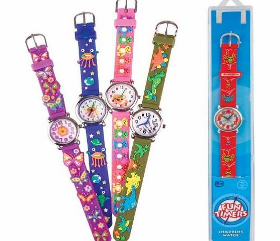 Childrens Watch - FUN TIMERS For Boys amp; Girls - , BEARS BLUE - CLICK FOR MORE INFORMATION