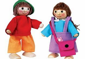 Childrens Wooden Dress Up People - CLICK FOR MORE INFORMATION