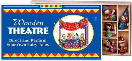 Childrens Wooden Theatre and Puppets - CLICK FOR MORE INFORMATION