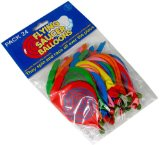 Flying Saucer Balloons Bulk Pk24 - CLICK FOR MORE INFORMATION