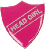 Head Girl Badge - CLICK FOR MORE INFORMATION