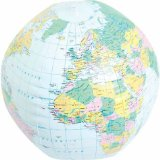 Inflatable Globe - CLICK FOR MORE INFORMATION