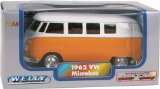 The classic camper van, die-cast in 1:38 scale With opening doors and pull-back-and-go motor Availab - CLICK FOR MORE INFORMATION