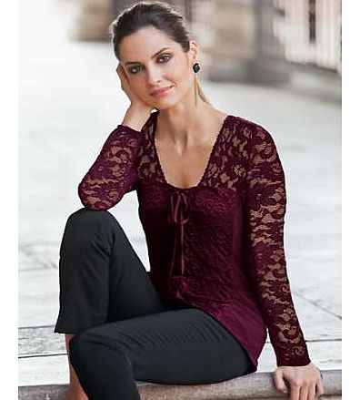 Together Lace Corset Top