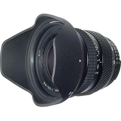 The value and performance of this wide-angle lens soars to new heights. Landscapes, group portraiture, or travel photography, this lens was built to travel light. But its no lightweight on quality. Tokinas AF 193 uses high-refraction, low-dispersion  - CLICK FOR MORE INFORMATION