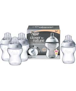 260ml Four Pack Easivent Bottle