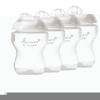 Closer To Nature 260ml EasiVent Bottle - 4 Pack