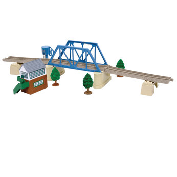 Bridge set tomy trackmaster thomas build a bridge set