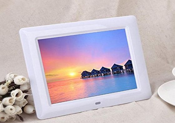Tonsee® 7 HD TFT-LCD Digital Photo Frame with Alarm Clock Slideshow MP3/4 Player