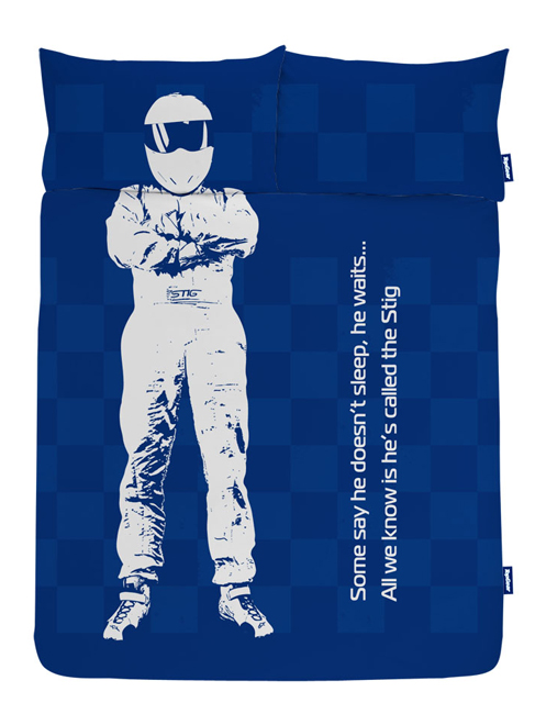 The Stig Double Duvet Cover