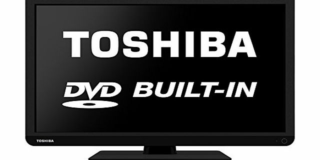 Toshiba 22D1337B 22-Inch 1080p Full HD LED TV with Built-In DVD product image