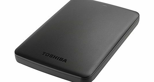 Toshiba HDTB305EK3AA 500GB 2.5 inch Canvio Basics USB 3.0 External Hard Drive - Black product image