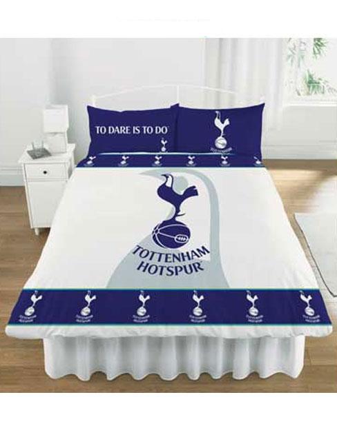Tottenham Hotspur FC Double Duvet Cover And