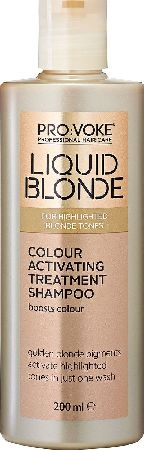 Touch Of Silver, 2102[^]0139622 PRO:VOKE Liquid Blonde Colour Activating