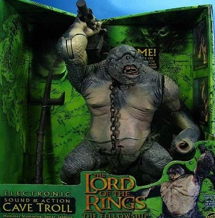 Toy Biz Deluxe cave troll with sound Lord of the Rings action figure