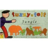 Toy Brokers Fuzzy-Felt Traditional Set - Jungle