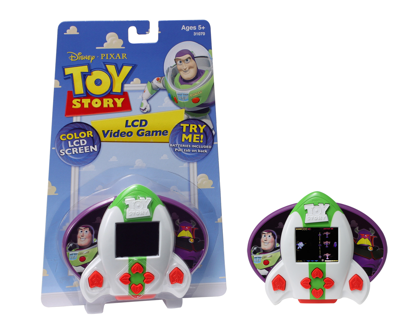 Toy Story Buzz Lightyear Lcd Game product image