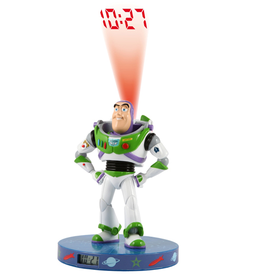 TOY STORY Buzz Lightyear Projection Clock