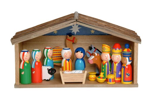 Toy Nativity Scene