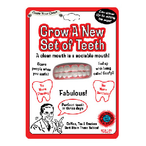Grow a New Set of Teeth