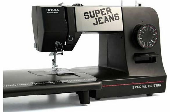 toyota super jeans 15pe sewing machine and sewing machine. Black Bedroom Furniture Sets. Home Design Ideas