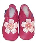 Flower Slippers - 0-6 months - CLICK FOR MORE INFORMATION