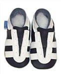 Navy Trainers - Slippers 0-6 months - CLICK FOR MORE INFORMATION