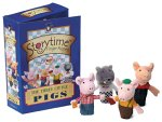 Three Little Pigs Storytime 10cm Finger Puppet - CLICK FOR MORE INFORMATION